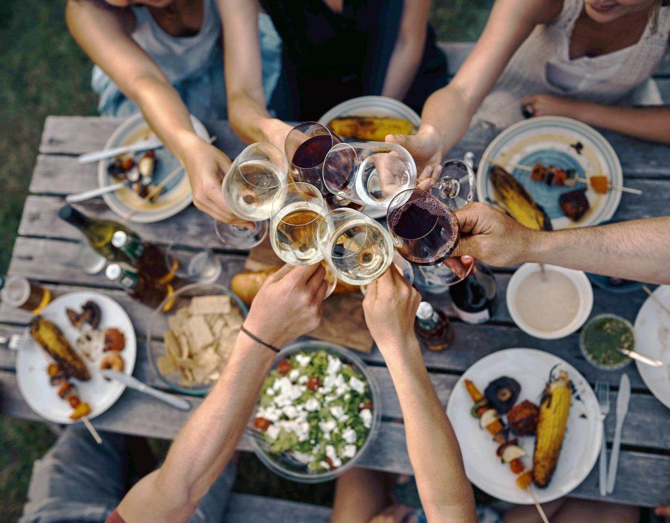 Weingläser Essen